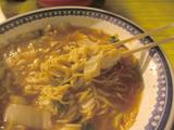 彩華ラーメン:麺
