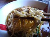自作ラーメン祭り 拉麺志士編:あごの香る鶏醤油ラーメン:麺