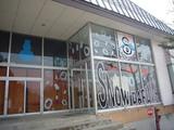 スノーダルマ食堂:入口付近