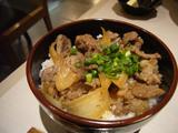 白樺山荘(2):ミニジンギスカン丼