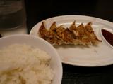 天下一品(19):ご飯と餃子