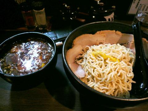 とらのこ:ゆず胡椒つけ麺