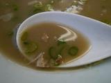 魁龍:スープ