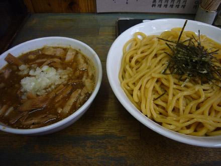 藍華(14):チャーシューつけ麺・小写真