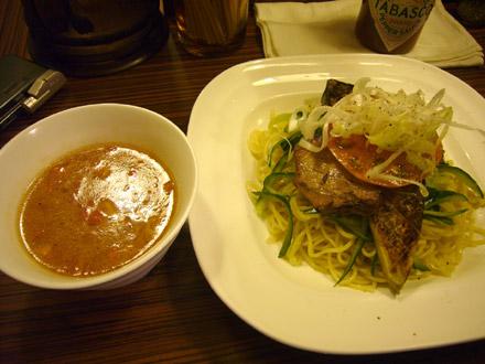 アイバンラーメン:夏つけ麺