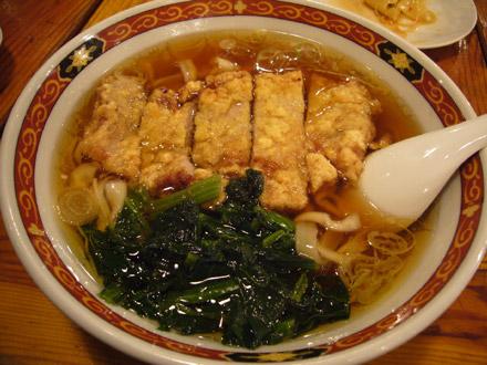 揚州商人(8):排骨麺