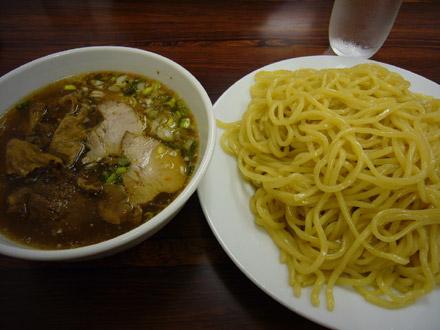 竜馬(2):牛すじチャーシューつけ麺(小写真)
