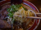 らあめん 龍王:麺