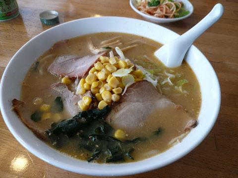 阿仁スキー場:味噌チャーシュー麺
