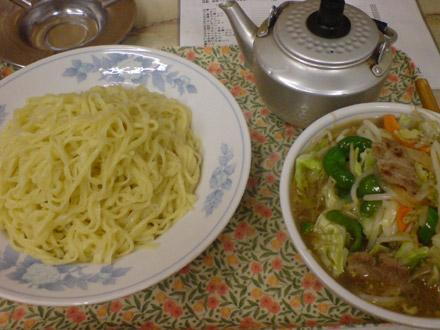 丸龍(2):味噌野菜つけ麺