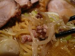 純連(2):麺と肉
