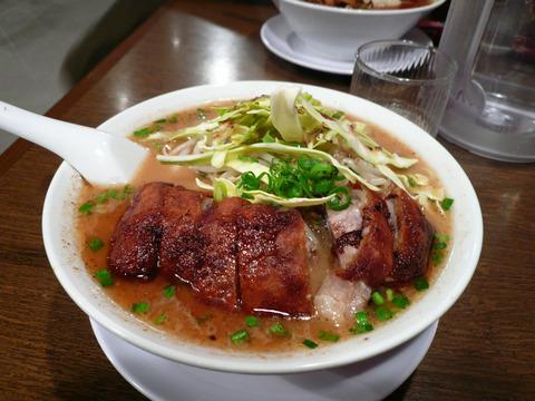 俺とカッパ(6):排骨麺