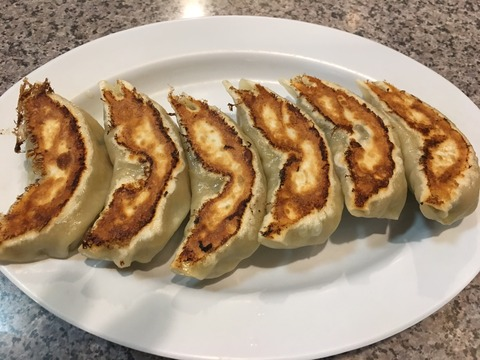 九条亭の餃子