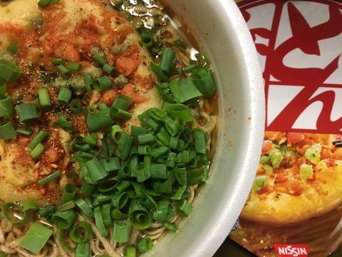 どん兵衛天ぷらそば(ねぎ、七味だく)を定期的に食べるのは…