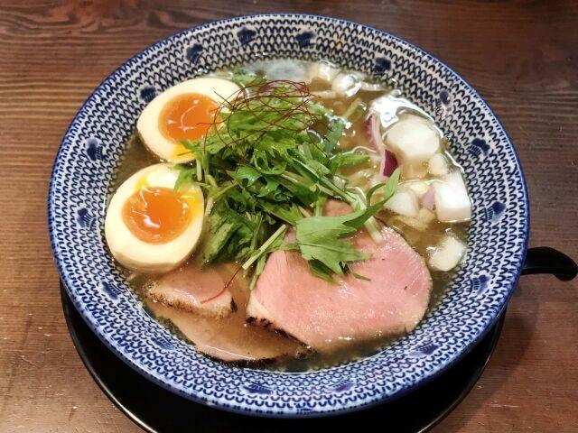 だしと麺 / イエス、オーライの方程式・・・焼き飛魚そば @兵庫県西宮市
