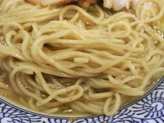 中華そば笑歩20180218麺
