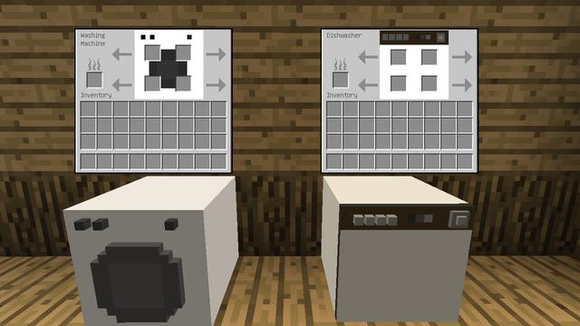 洗濯機と食器洗器