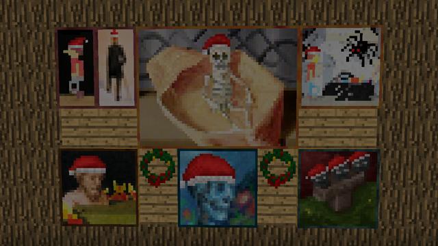 クリスマス仕様の壁紙