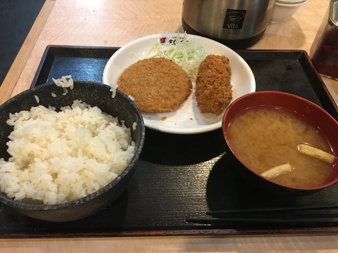 サラリーマンの昼食