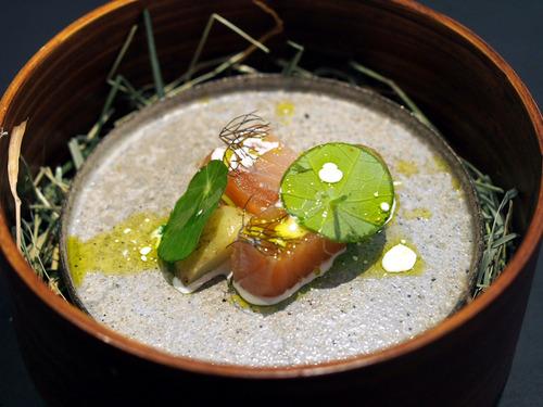saumon pomme