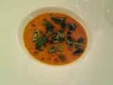 松葉蟹のピスクスープ