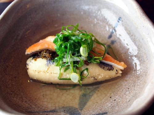 琵琶鱒と子持ち鮎の卵