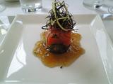 鱒と茄子のマリネ