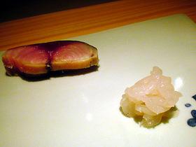 白海老と鯖