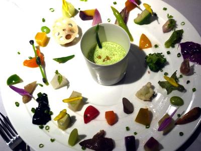 花韮と大蒜のスープ