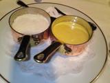 ルイユソースとチーズ