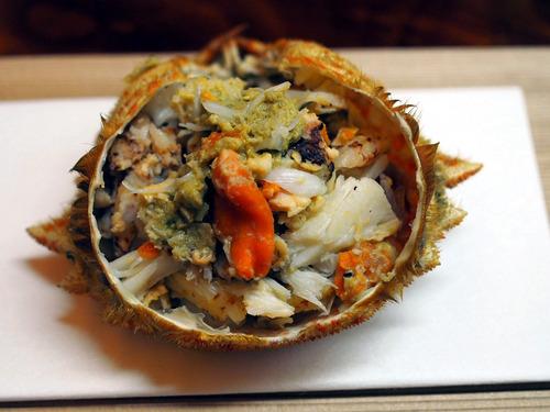 トゲクリ蟹