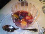フルーツのスープ