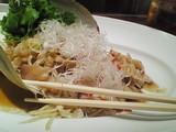 活きミル貝の冷菜