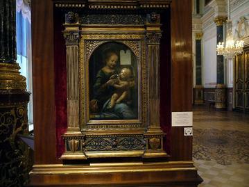 レオナルド・ダ・ヴィンチの「ブノワの聖母」