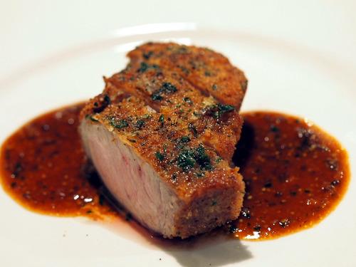 蝦夷豚背肉のカツレツ