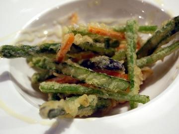 野菜と小エビのフリット