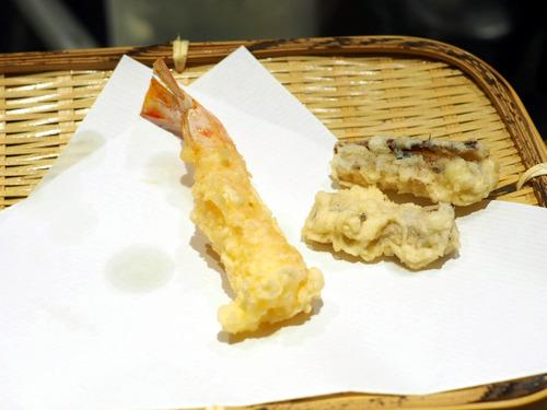 海老 松茸