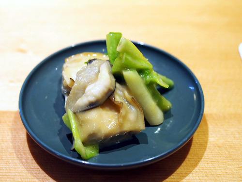 牡蠣と浅葱のぬた和え