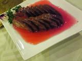 蓮根の肉詰め梅酢漬け