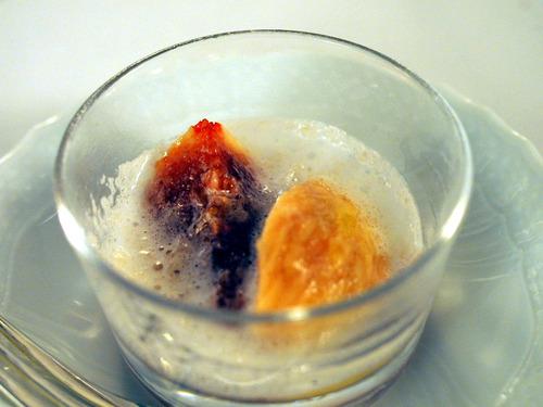 イチジクとイスピーダのスプーマ