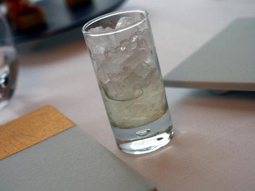 レモンジンジャー水