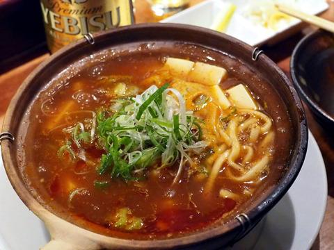 麻婆豆腐砂鍋麺