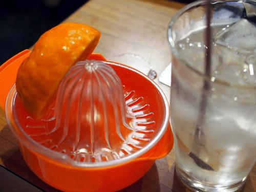 生搾りオレンジサワー