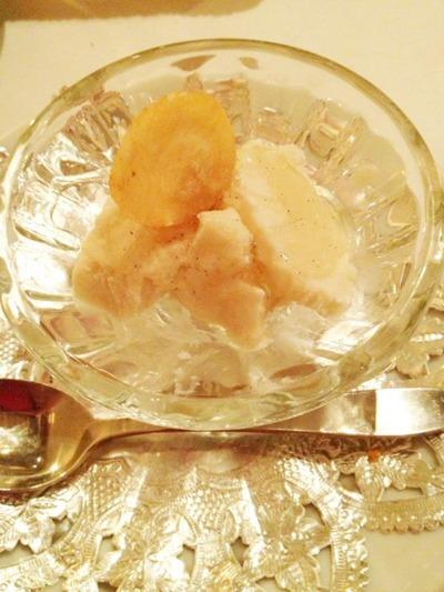 長芋と豆乳のジェラート