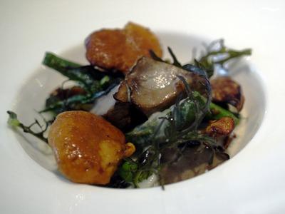 ジロール茸とポルチーニと野菜