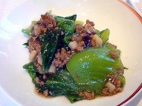 野菜と挽肉炒め