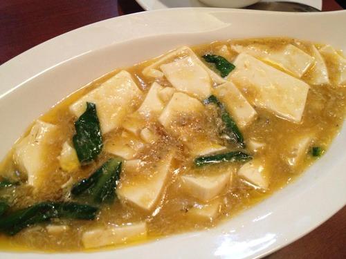 上海蟹肉と豆腐煮込み