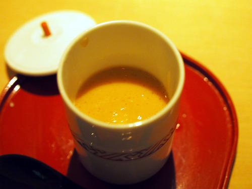 甘海老の茶わん蒸し