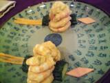 海老の胡麻ピーナッツソース