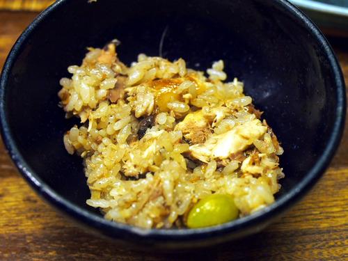 秋刀魚ご飯